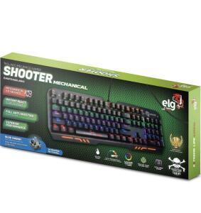 Teclado Gamer Mecâmico Shooter LED R$302