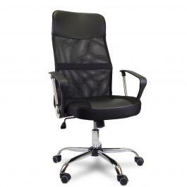 Cadeira de Escritório Comfy Worth Preta, Base Giratória e Sistema Relax - R$399