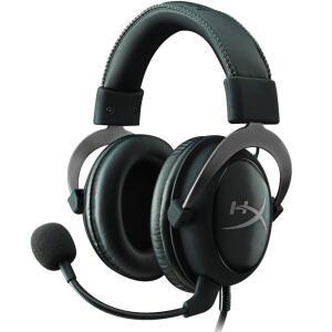 Headset Gamer HyperX Cloud II 7.1 - KHX-HSCP-GM - Preto | R$550