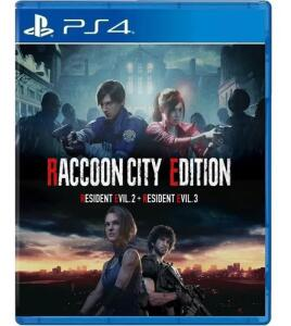 [PS4] Raccoon City Edition - Inclui RE2 e RE3 Remake | R$133