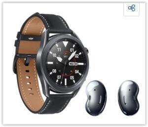 Galaxy watch 3 45mm lte + buds live | R$ 2599