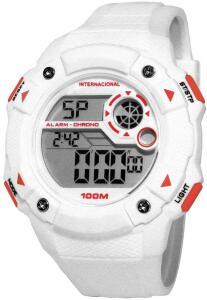 Relógio Masculino Clubes Technos Digital Casual Internacional INT1360/8B   R$109