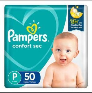 Leve 3 e pague 2 - Fralda Pampers Confort Sec P 50 Unidades | R$22
