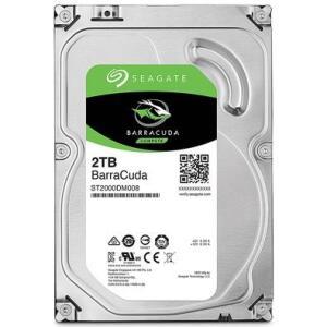 HD Seagate BarraCuda, 2TB, 3.5´, SATA - ST2000DM008 | R$380