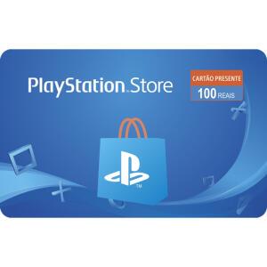 Gift Card Digital Playstation Store R$ 100   Ame: R$90