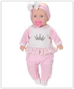 Boneca Baby New Collection Macacão Comprido | R$ 39