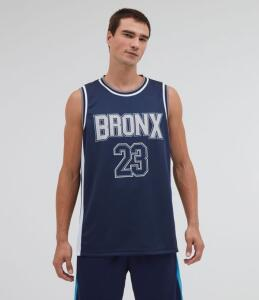 Regata Esportiva Estampa Basquete Bronx | R$17,91
