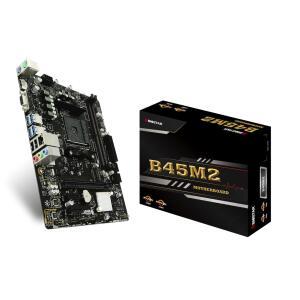 Placa Mãe Biostar B45M2, Chipset B350, AMD AM4, mATX, DDR4 | R$260