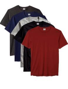 Kit com 5 Camisetas Masculina Básica Algodão Premium | R$120