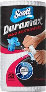 Scott Pano Duramax, Rolo Multiuso, 58 unidades | R$10