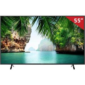"Smart TV LED 55"" TC-55GX500B Panasonic, 4K HDMI USB com Wi-Fi Integrado | R$ 2.249"