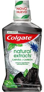 Enxaguante Bucal Colgate Natural Extracts Carvão 500ml, Colgate | R$14