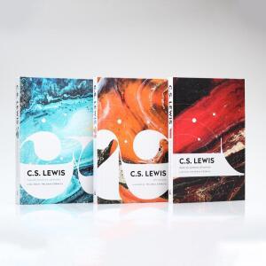 Kit 3 Livros | Trilogia Cósmica | Capa Dura | C.S. Lewis