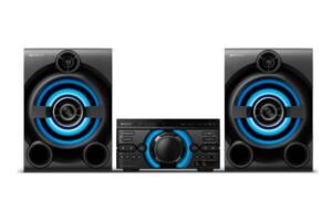 Mini System Sony MHC-M60D Bluetooth MP3 USB HDMI DVD 1600W | R$1.259