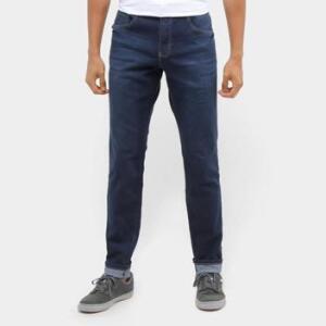 Calça Jeans Slim Polo Wear Estonada Masculina R$89