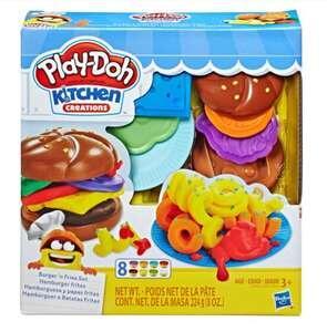 Kit Play-Doh Hasbro Hambúrguer e Batata | R$47