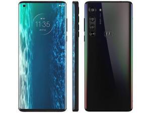 "Smartphone Motorola Edge Solar Black, Tela 6.67"" R$2999"