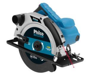Serra Circular Philco PSC01 com Disco de Corte - 1500W - 220v | R$390