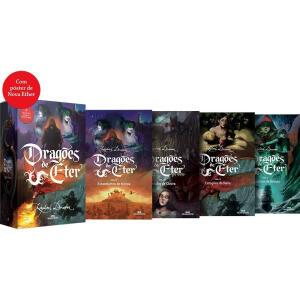 Box Livros - Dragões De Éter (4 volumes) + Pôster - R$71