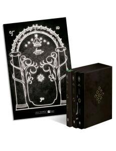 Box de Livros - Senhor Dos Anéis (3 Volumes) + Pôster | R$71