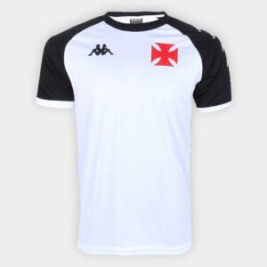 Camisa Kappa Vasco da Gama Supporter 1898   R$76
