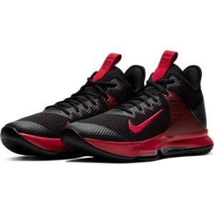 Tênis Nike Lebron Witness IV Masculino - Vermelho e Preto - Tam. 38 | R$320