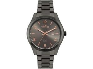 Relógio Masculino Technos Analógico Steel - 2115MRY/4C Grafite   R$ 164