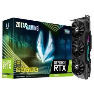Placa de Vídeo Zotac NVIDIA GeForce RTX 3080, 10GB, GDDR6X