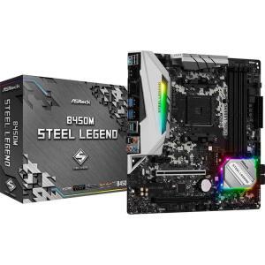 Placa Mãe ASRock B450M Steel Legend | R$729