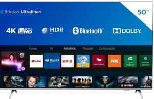 [MagaluPay] Smart TV Philips 4K LED UHD 50PUG6654/78 Bordas Ultrafinas | R$1899