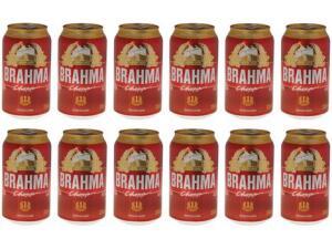 [MagaluPay] Cerveja Brahma Chopp Lager Pilsen 12 Unidades - 350ml | R$27