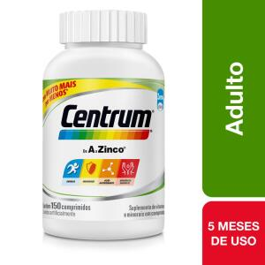 Centrum de A a Zinco Com 150 Comprimidos | R$203