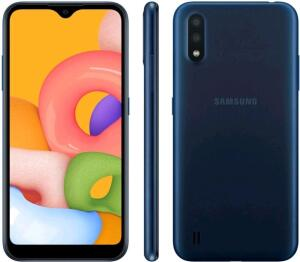 "[ MagaluPay R$577] Smartphone Samsung Galaxy A01 Tela 5,7"" | Todas as Cores | R$777"