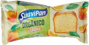 BOLO DE LARANJA ORGÂNICO 200g R$10