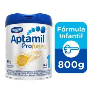 Fórmula Infantil Aptamil Profutura 1 800g- 3Unidades R$115