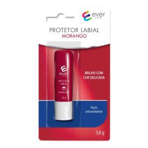 Protetor Labial Ever Care Morango 3,6g - R$8