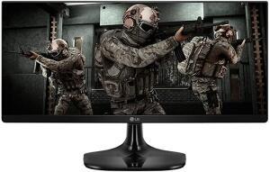"Monitor LG Gamer UltraWide 25"" IPS Full HD - R$987"