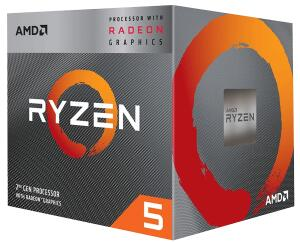 Kit Ryzen 5 3350g (3400g) + A320 + 8GB DDR4 2666mhz   R$1.619