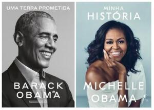 Kit Livros Família Obama | R$85
