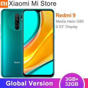 Smartphone Xiaomi redmi 9 3gb 32gb helio g80 octa núcleo 13mp - R$707