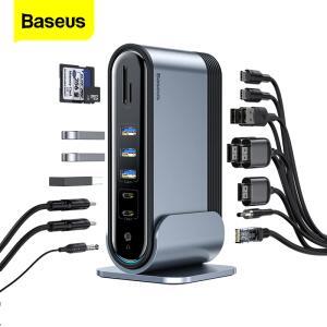 Caregador Baseus usb c hub 17 em 1 tipo c hub | R$ 490