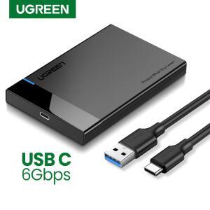Adaptador de SSD Ugreen-Case HDD, SATA 2.5 para USB 3.0 - R$67