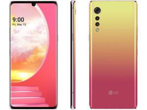 "[clinte ouro] - Smartphone LG Velvet 128GB Illusion Sunset Octa - Core 6GB RAM Tela 6,8"""