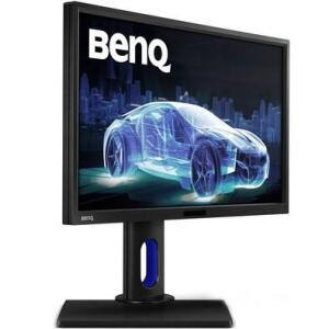 Monitor Benq LED 23.8´ Widescreen, QHD, IPS, HDMI/VGA/DVI, Som Integrado, Altura Ajustável - R$2500