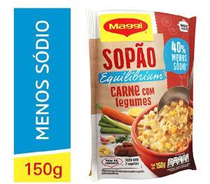 [PRIME + Rec] Sopão Maggi Equilibrium Carne com Legumes, 150g (mín. 3)   R$4