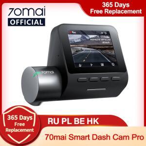 Câmera Automotiva Dash Cam Pro 70mai Wi-Fi Controle de Voz | R$368