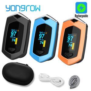 Oxímetro de Dedo Recarregável Yongrow | R$84