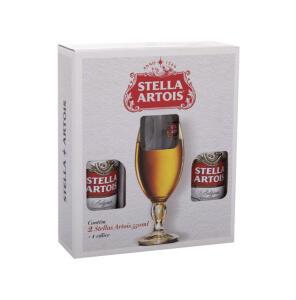 Kit Cerveja Stella Artois Lager 2 Unidades 550ml | R$21