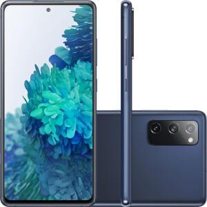 "Smartphone Samsung Galaxy S20 Fe 128GB Octa-Core 2.73GHz Dual Chip Wi-Fi 4G Tela 6.5"" - Cloud Navy | R$2.499"