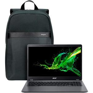 Notebook Acer Aspire 3 10ª Intel Core i3 8GB 512GB SSD + Mochila Targus Geolite Essential | R$2934